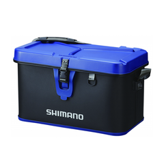 Сумка Shimano Hard Tackle Boat Bag 32L 30x52x32cm black/blue